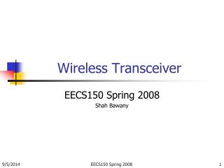 Wireless Transceiver