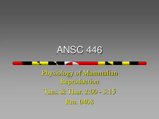 ANSC 446