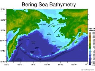 Bering Sea Bathymetry