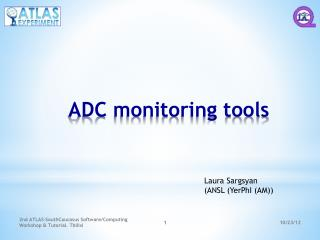 ADC monitoring tools