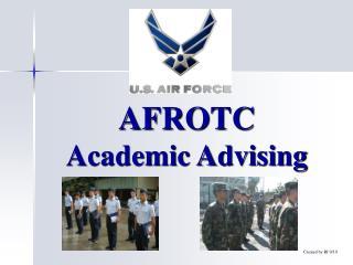 AFROTC Academic Advising