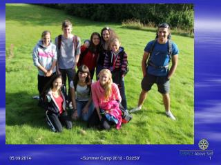 Summer Camp 2012 - Norway