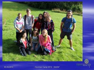 Summer Camp 2012 - Norway