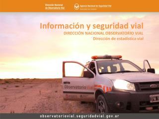 Información y seguridad vial
