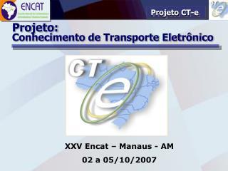 Projeto CT-e