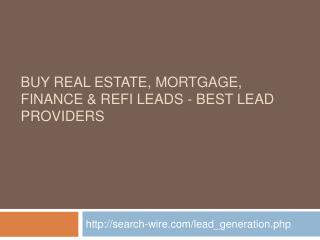Search Wire - Real Estate Leads