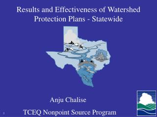 Results and Effectiveness of Watershed Protection Plans - Statewide