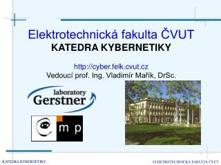 Elektrotechnická fakulta ČVUT KATEDRA KYBERNETIKY cyber.felk.cvut.cz