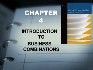 INTRODUCTION  TO  BUSINESS COMBINATIONS