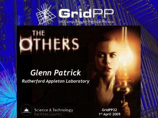 Glenn Patrick Rutherford Appleton Laboratory