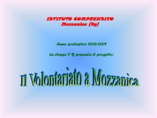 ISTITUTO COMPRENSIVO Mozzanica (Bg)
