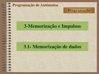 Programação de Autómatos