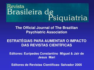ABP e o Projeto de Renova��o da Revista ABP-APAL (1998)
