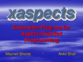 Extensible Plug-ins for Aspect-Oriented Programming