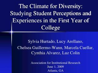 Sylvia Hurtado, Lucy Arellano, Chelsea Guillermo-Wann, Marcela Cuellar, Cynthia Alvarez, Luz Colin