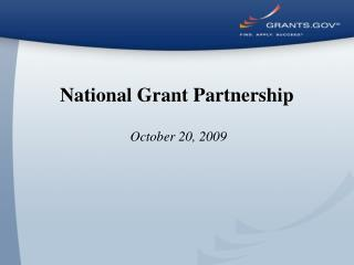 National Grant Partnership