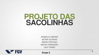 Projeto  das Sacolinhas