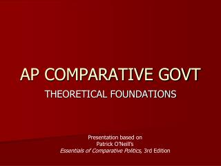 AP COMPARATIVE GOVT