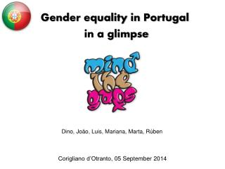Gender equality in Portugal  in a glimpse