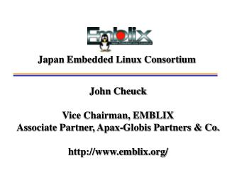 Japan Embedded Linux Consortium