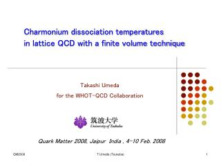 Charmonium dissociation temperatures in lattice QCD with a finite volume technique