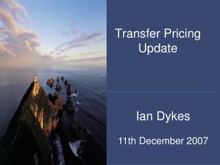 Transfer Pricing Update