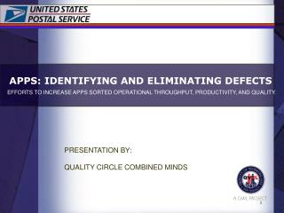 APPS: IDENTIFYING AND ELIMINATING DEFECTS