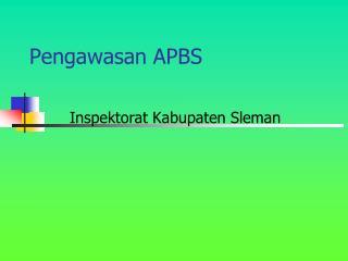 Pengawasan APBS