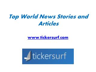 California News Articles - www.tickersurf.com
