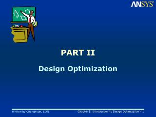 PART II Design Optimization