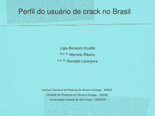 Lígia Bonacim Dualibi Prof. Dr.  Marcelo Ribeiro Prof. Dr.  Ronaldo Laranjeira