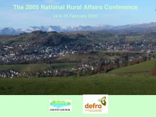 The 2005 National Rural Affairs Conference  24 & 25 February 2005