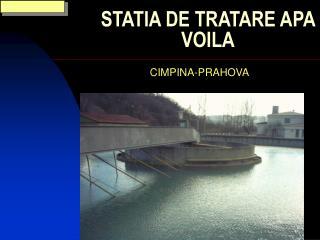 STATIA DE TRATARE APA VOILA
