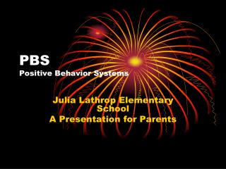 PBS Positive Behavior Systems