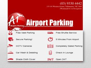 Secure & Reliable Airport Parking Service in Melbourne