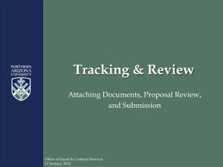 Tracking & Review