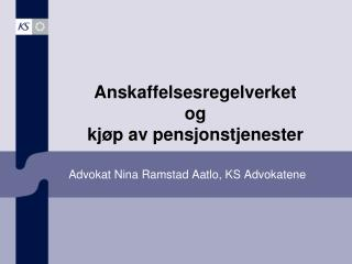 Advokat Nina Ramstad Aatlo, KS Advokatene