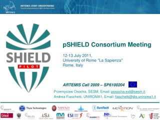 pSHIELD Consortium Meeting