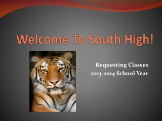 Welcome To South High!