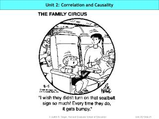 Unit 2: Correlation and Causality