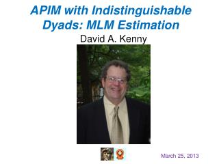 APIM with  Indistinguishable  Dyads :  MLM Estimation
