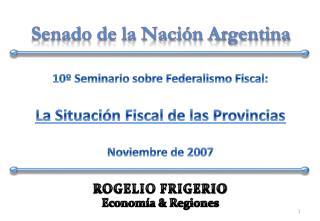 Senado de la Naci�n Argentina