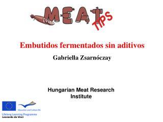 Hungarian Meat Research Institute