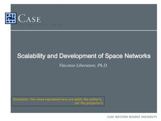 Scalability and Development of Space Networks