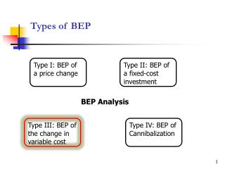 Types of BEP