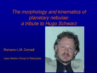 The morphology and kinematics of planetary nebulae:  a tribute to Hugo Schwarz
