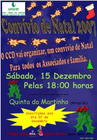 Convívio de Natal 2007