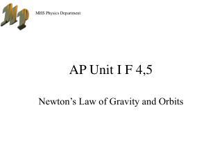 AP Unit I F 4,5