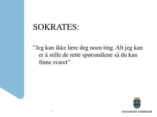 SOKRATES: