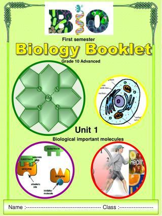 Biology Booklet
